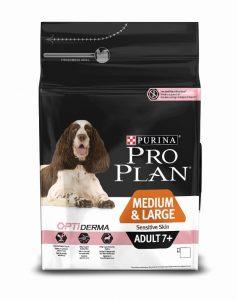 Pro Plan Senior Sensitive Skin Somonlu ve Pirinçli Köpek Maması