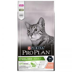 Pro Plan Somonlu ve Ton Balıklı Kısırlaştırılmış Yetişkin Kedi Maması