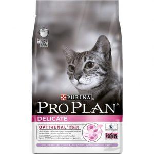 ProPlan Hassas Deri ve Mide İçin Hindili Kedi Maması 3 kg